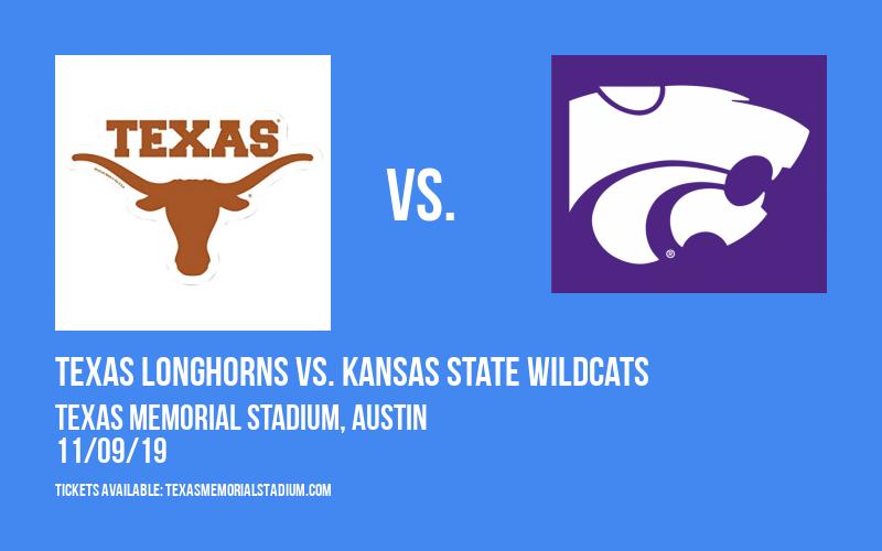 Texas Longhorns vs. Kansas State Wildcats at Texas Memorial Stadium