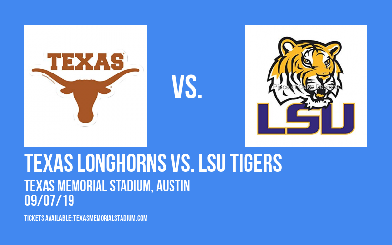 Texas Longhorns vs. LSU Tigers at Texas Memorial Stadium