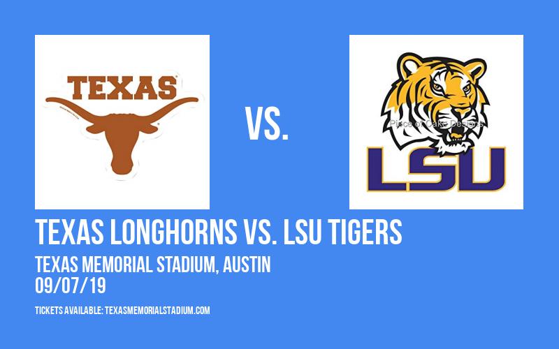 PARKING: Texas Longhorns vs. LSU Tigers at Texas Memorial Stadium