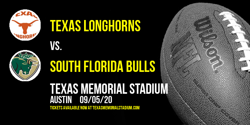 Texas Longhorns vs. South Florida Bulls at Texas Memorial Stadium