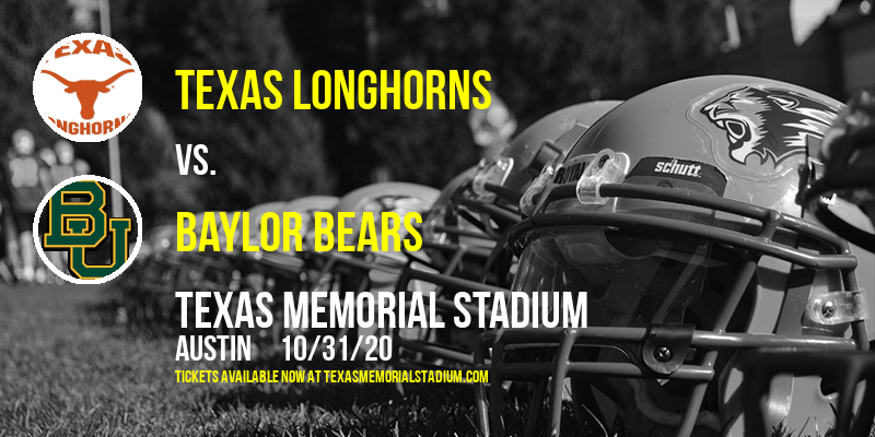 Texas Longhorns vs. Baylor Bears at Texas Memorial Stadium