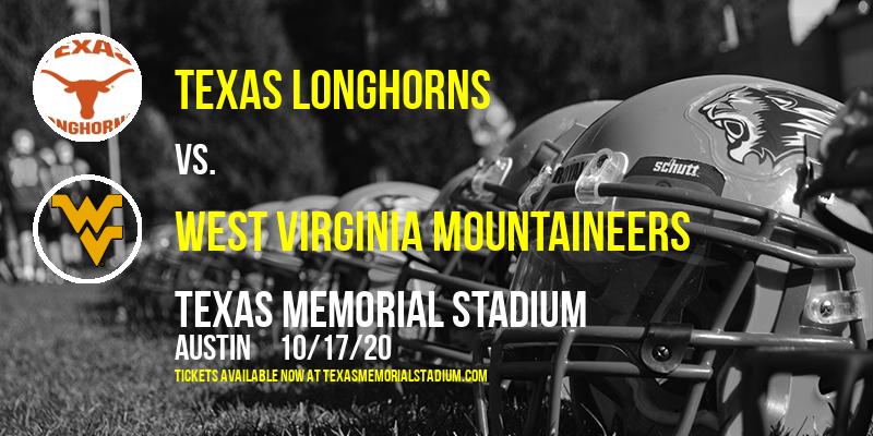 Texas Longhorns vs. West Virginia Mountaineers at Texas Memorial Stadium