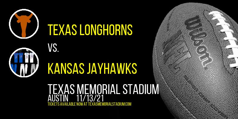 Texas Longhorns vs. Kansas Jayhawks at Texas Memorial Stadium